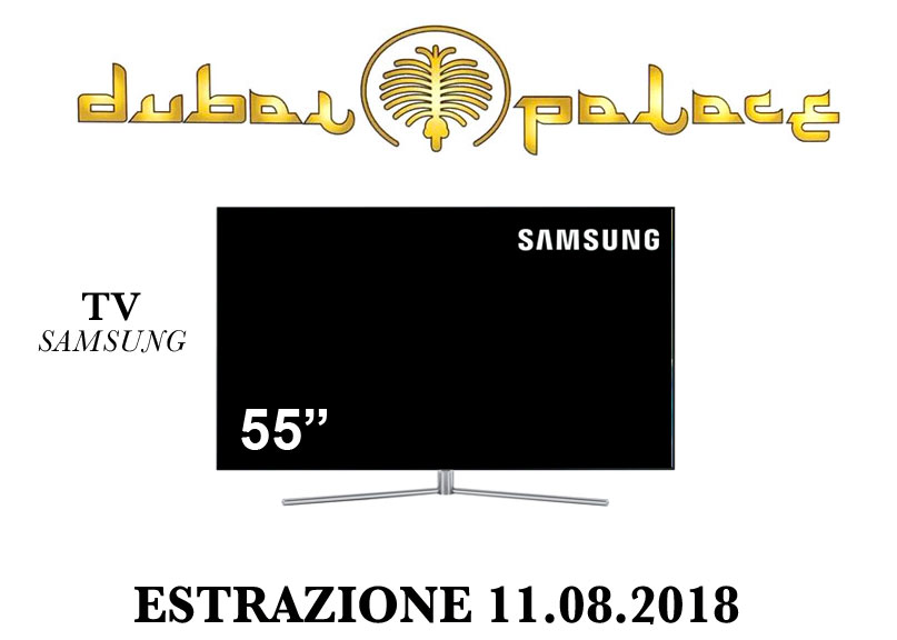 Terzo premio del concorso Viva l'estate 2018: Tv color Samsung